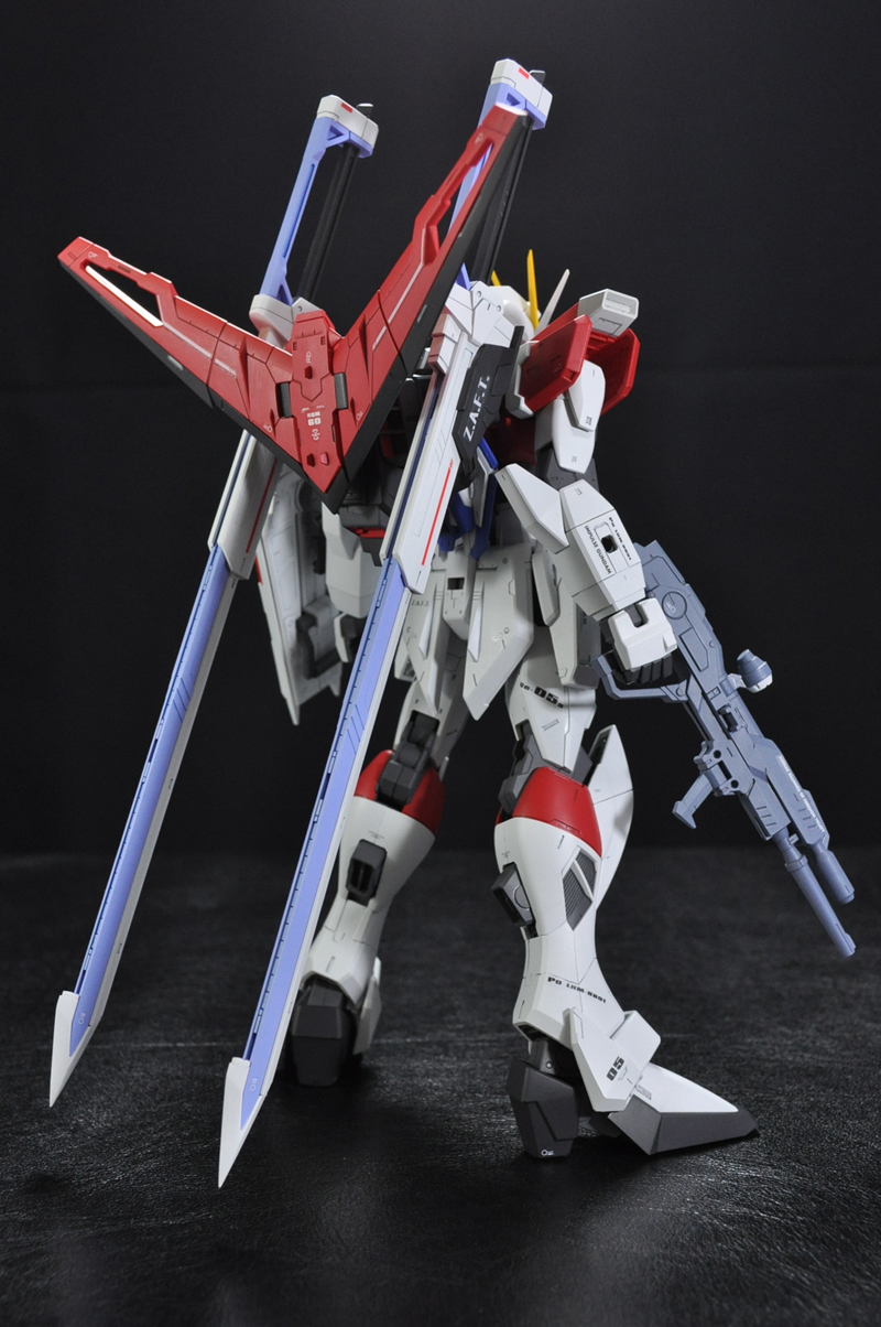 MG 1/100 Sword Impulse Gundam: Assembled, Painted. Photoreview No.17 Big Size Images