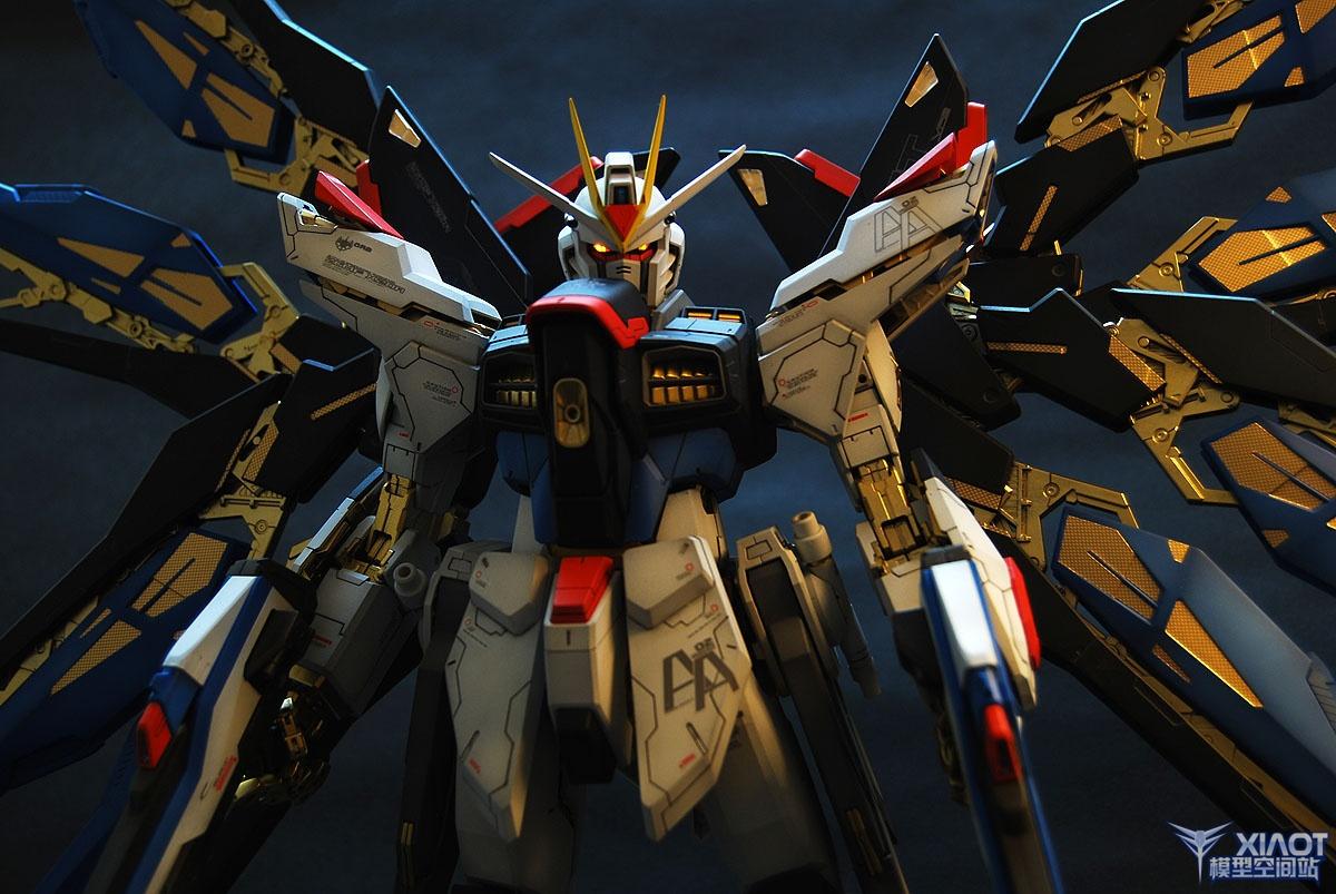 PG ZGMF-X20A Strike Freedom Gundam: Improved! Painted ...