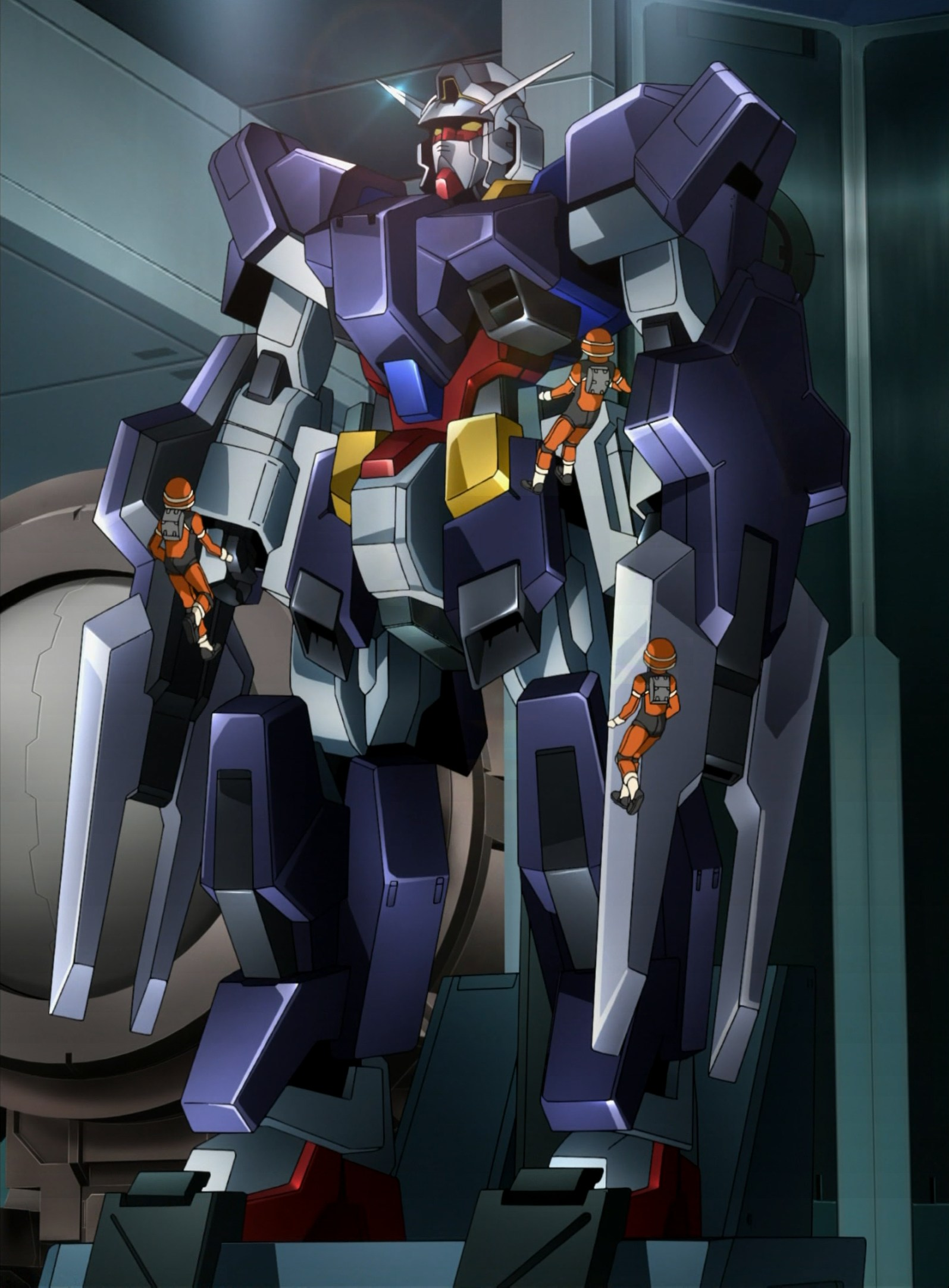Mobile Suit Gundam AGE Anime Series: Gundam AGE-1 Full Armor! Poster ...