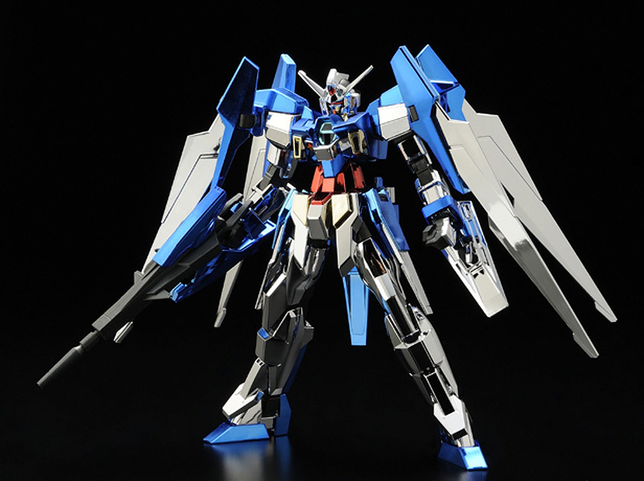 Hg 1 144 Gundam Age 2 Normal Full Color Plated Ver New