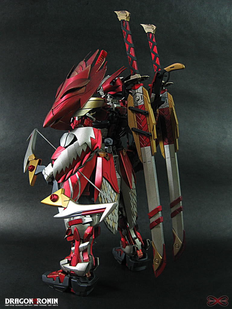 Gundam Astray Red Frame Ver Matx Dragon Ronin Full