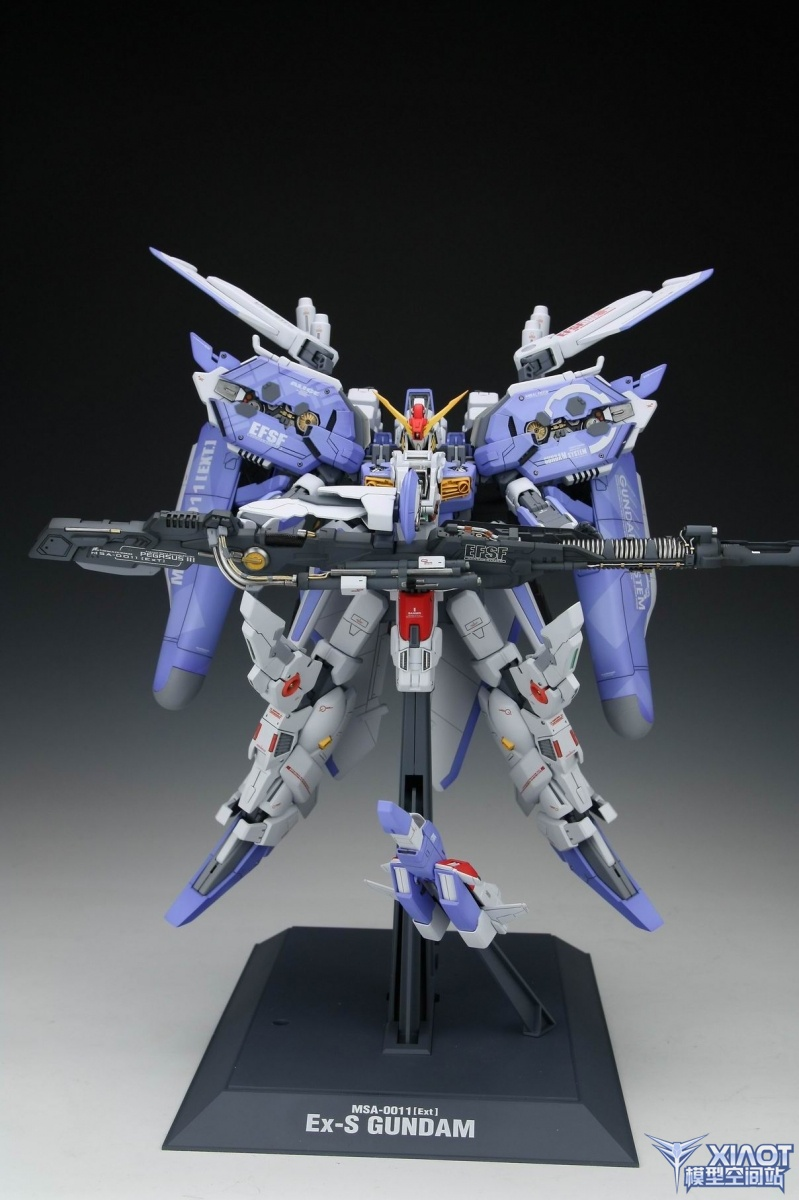 1 100 Msa 0011 Ext Ex S Gundam Painted Build A New Photoreview W Wallpaper Size Images Gunjap