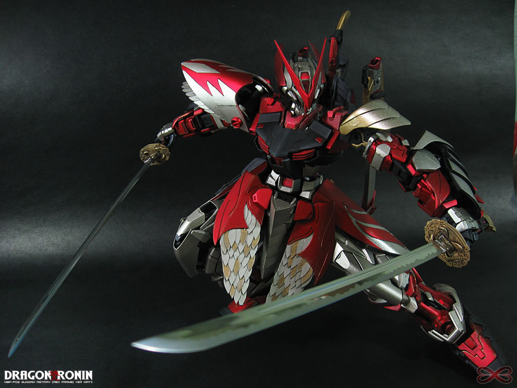 Astray Red Frame Wallpaper