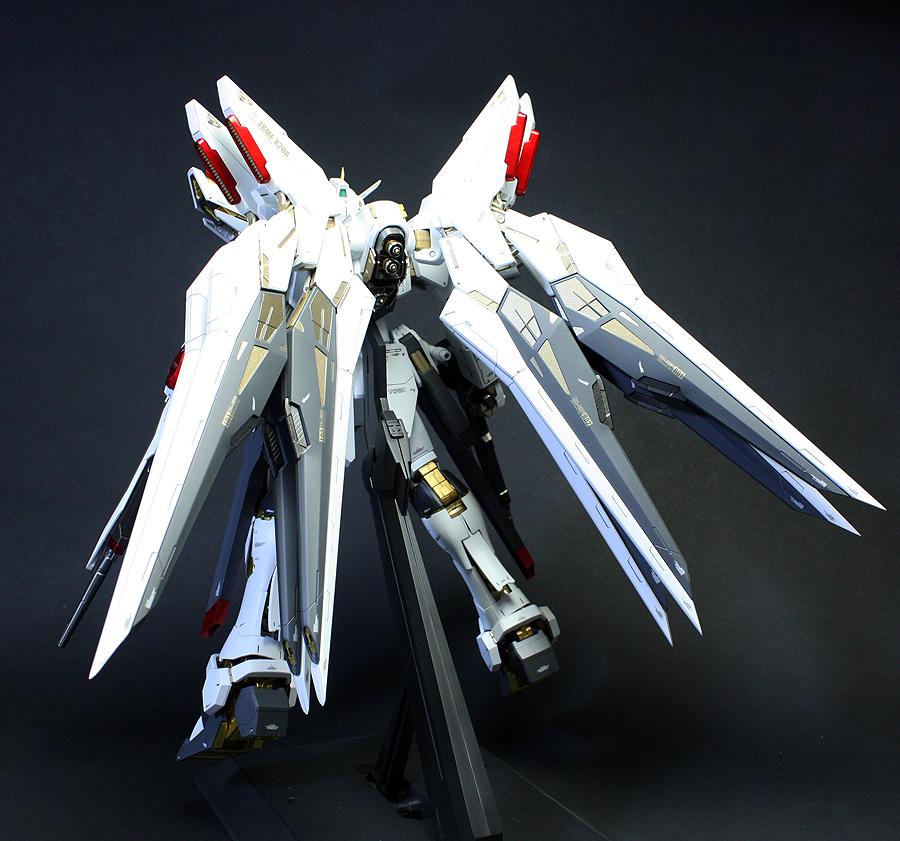 The gallery for --> Strike Freedom Gundam Custom