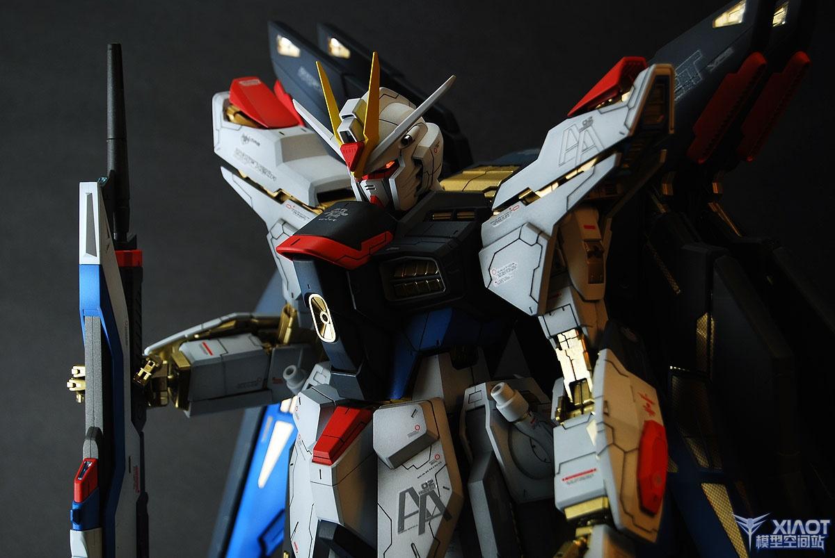 Pg Zgmf X20a Strike Freedom Gundam Improved Painted Build