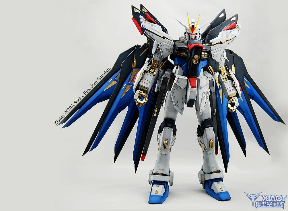 PG ZGMF-X20A Strike Freedom Gundam: Improved! Painted ...