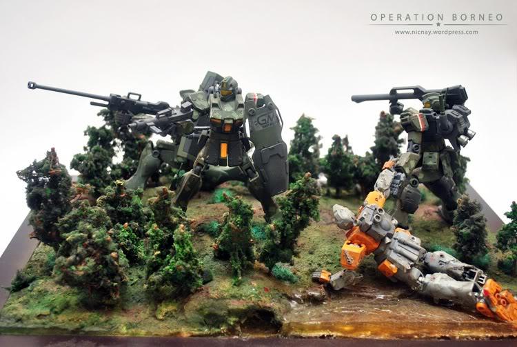 Gunpla 1 144 Diorama Operation Borneo Big Size Images