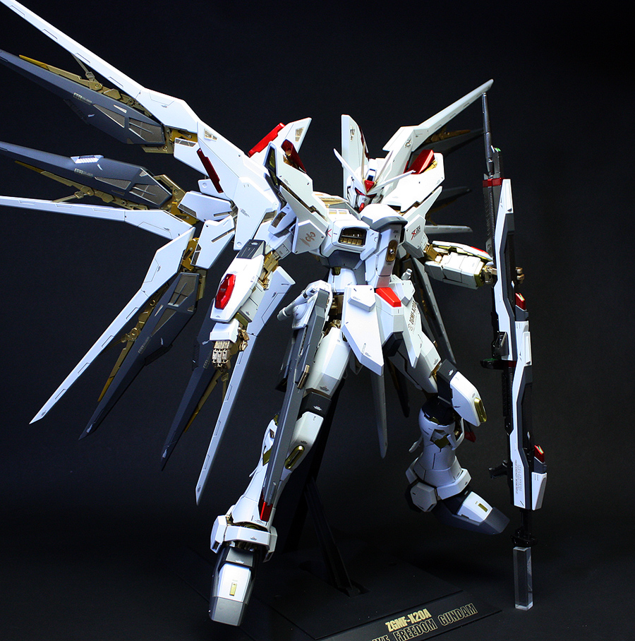 PG 1/60 ZGMF-X20A Strike Freedom Gundam: Custom Paint ...