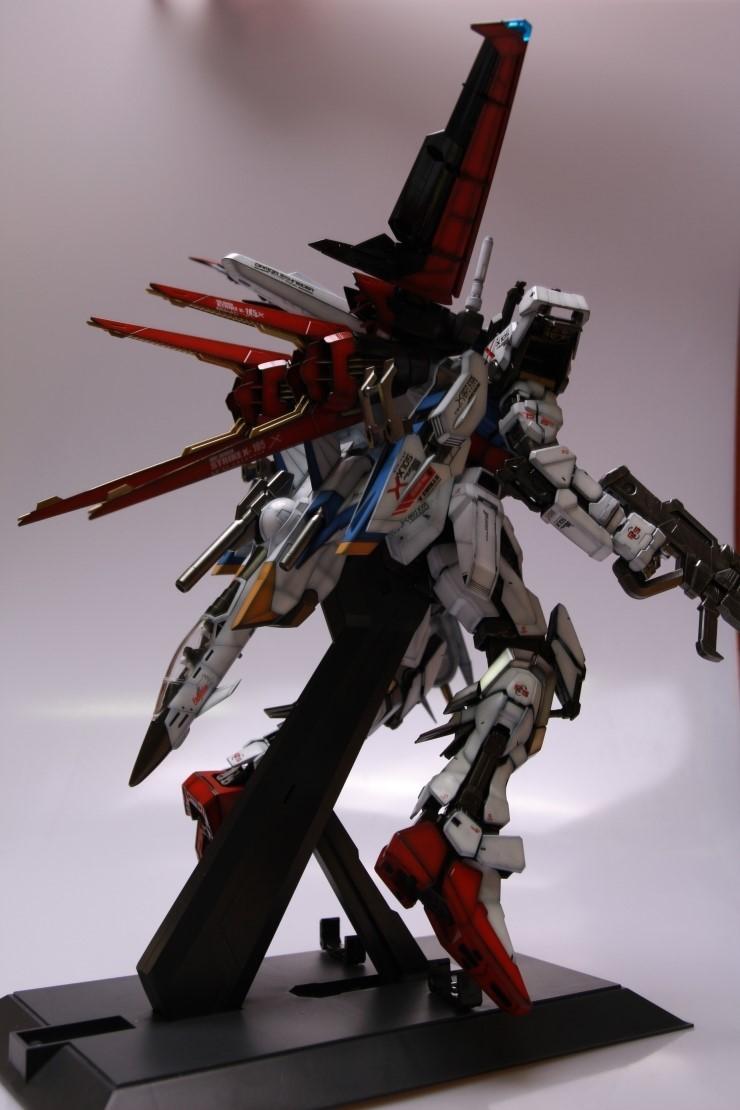Pg Aile Strike Gundam Skygrasper Assembled Painted