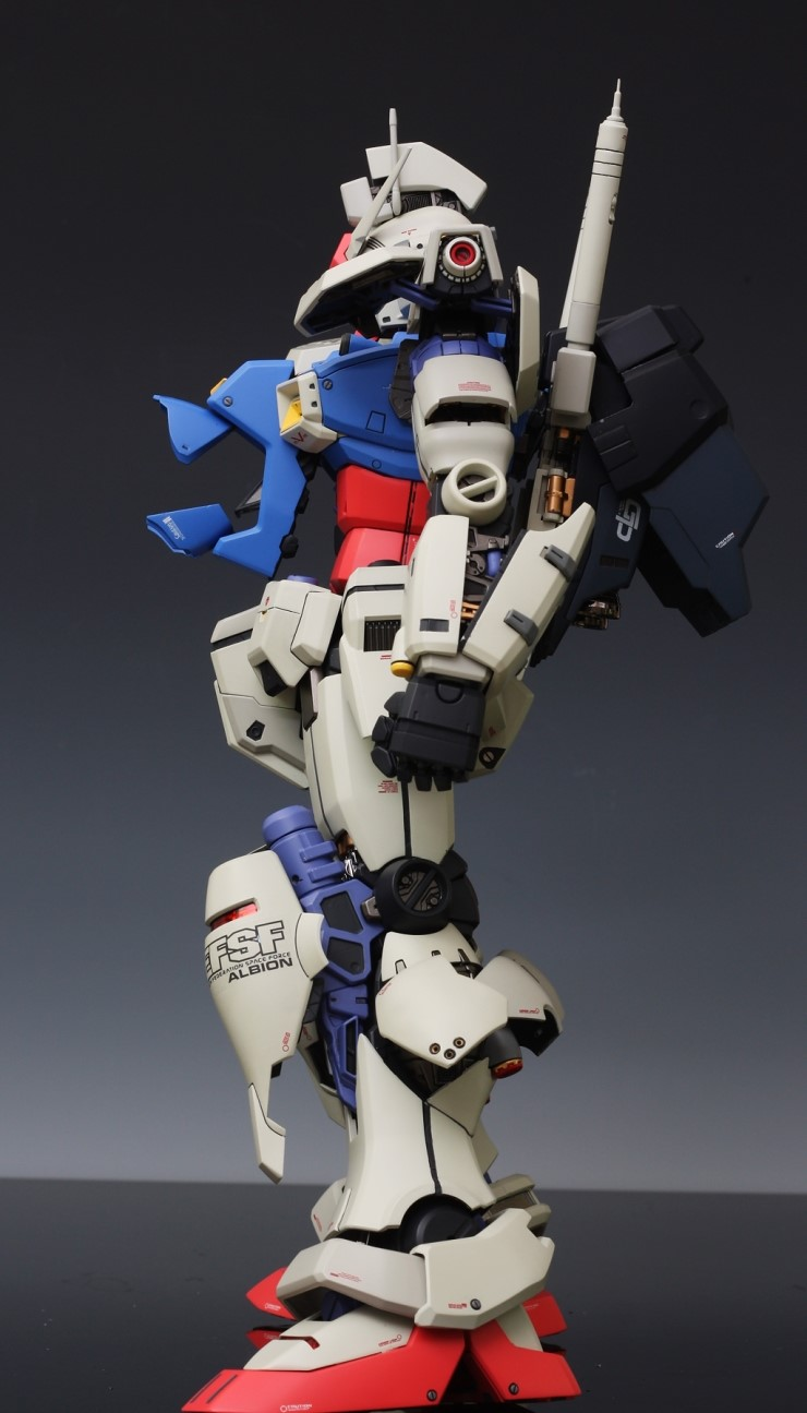 1 60 Perfect Grade Rx 78 Gundam Gp01 Full Photoreview