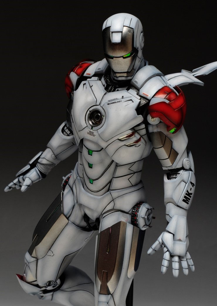 1 6 iron man mark iv hot toys custom paint reposted now with full photoreview - Iron man 1 images ...