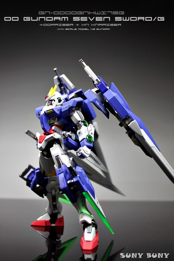 1 144 00 Gundam Seven Sword G Ooraiser Xn Xnraiser Improved Painted Build W Led Full