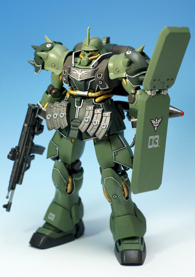 AMS129 Geara Zulu [Guards Type] Custom gundam, Gundam
