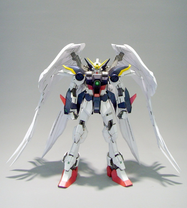 WING ZERO Gundam Paper craft
