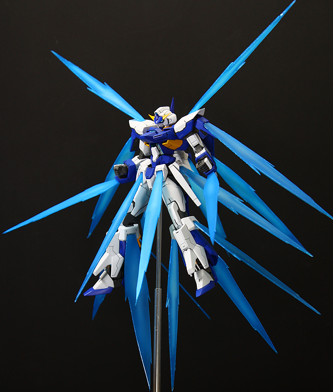 HG 1/144 Gundam AGE-FX Burst Mode: Custom Build. Big Size ...