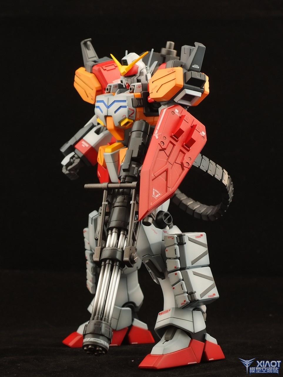 MG Gundam HeavyArms Custom: Painted Build. Photoreview No ...