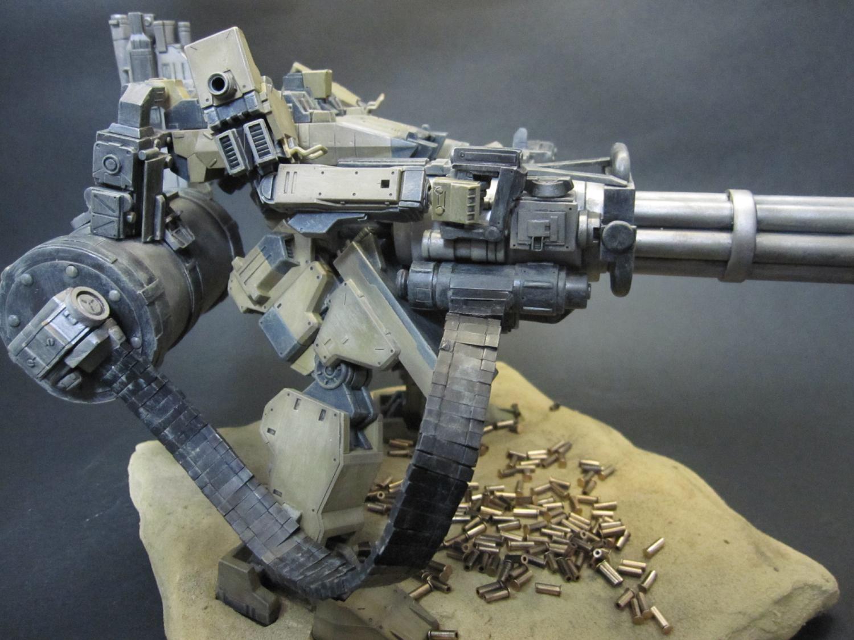 Armored Core Sunshine L w Gatling Gun Custom Work w