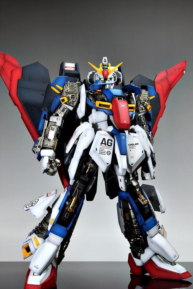 Pg 1 60 Msz 006 Zeta Gundam Painted Build Photoreview
