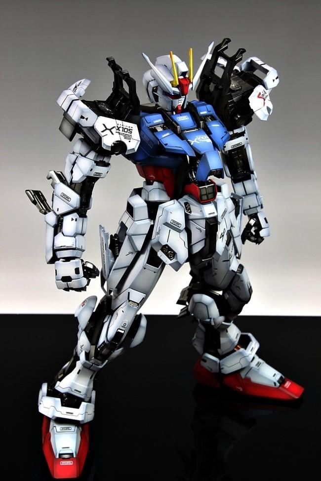 Pg 1 60 Gat X105 Strike Gundam Painted Build Amazing