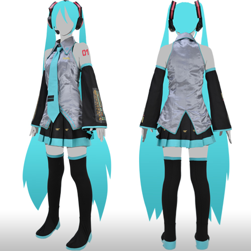 Cosplay Hatsune Miku S 1st Official Costume Set Offered