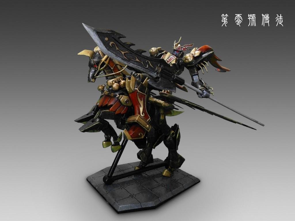 Dragon Gundam w Horse tentative