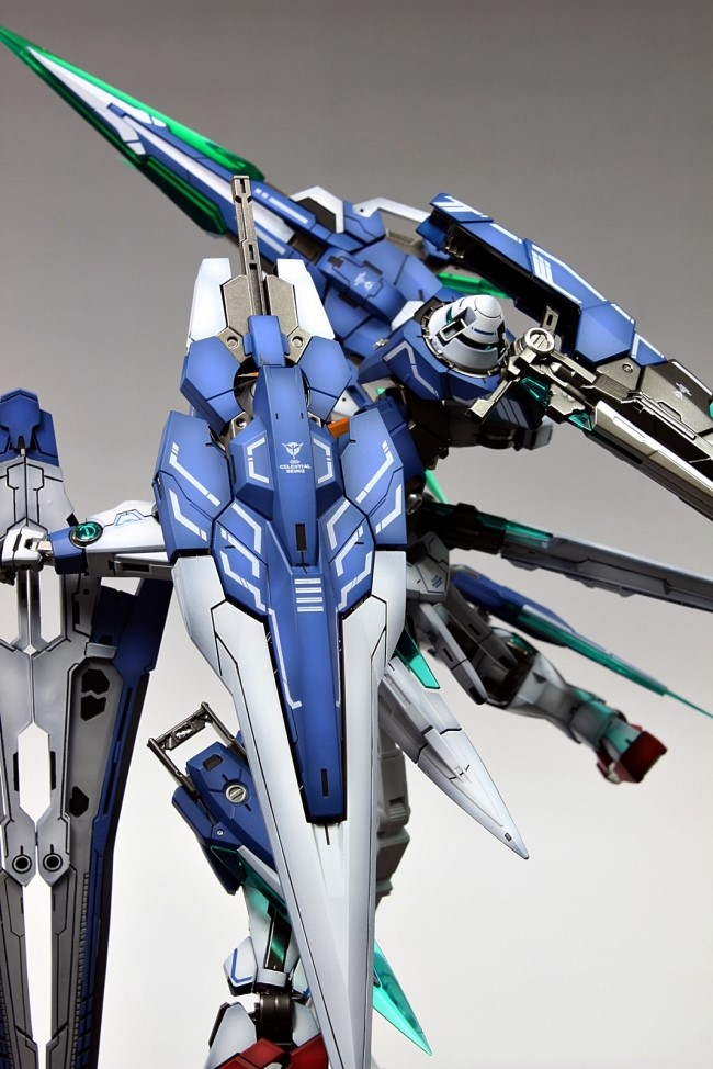 Mg 1 100 00 Gundam Seven Sword G Improved Painted Build Photoreview No 24 Big Size Images