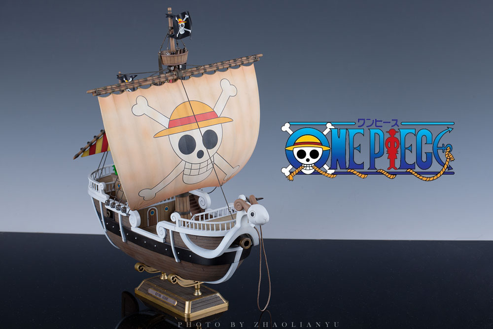 ONE PIECE Going Merry: Improved, Painted Build. Full ...