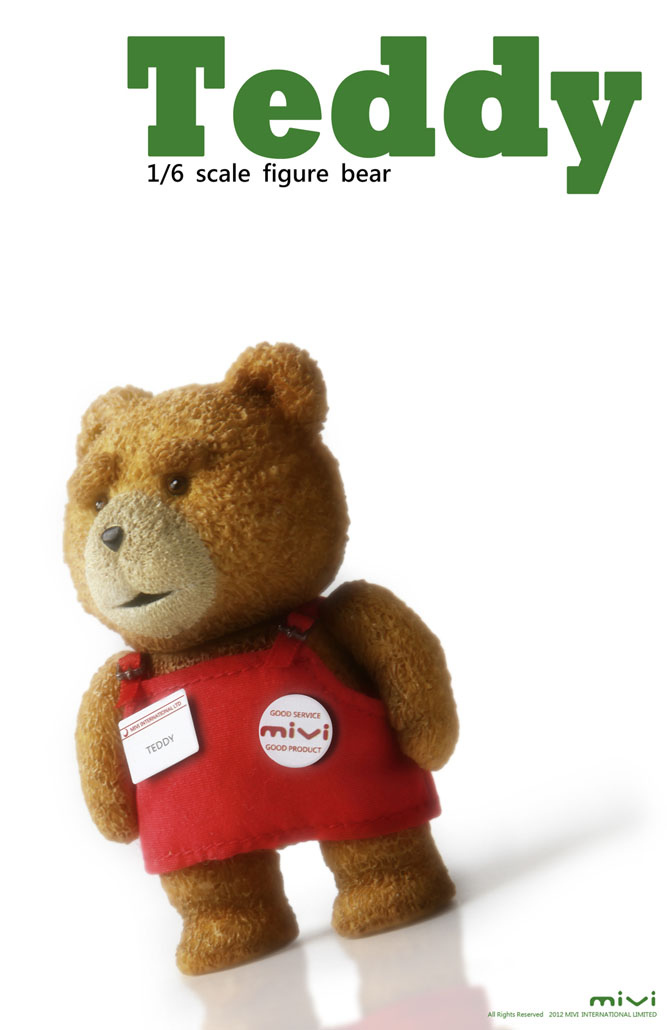 teddy 1  6 scale figure bear  preview no 5 big size official images