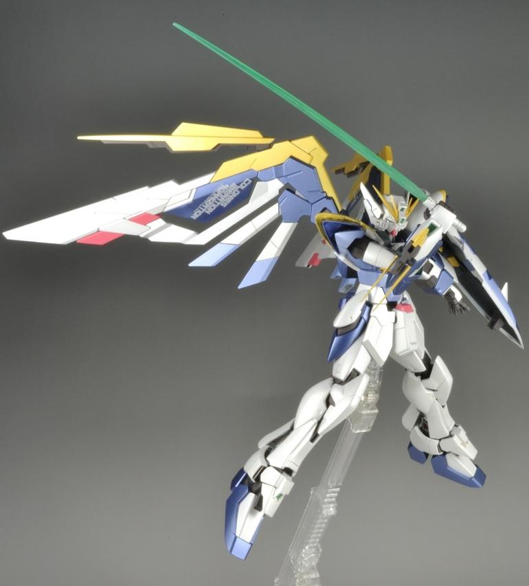 MG 1/100 XXXG-01W Wing Gundam Ver.Ka (Remodeling Work ...