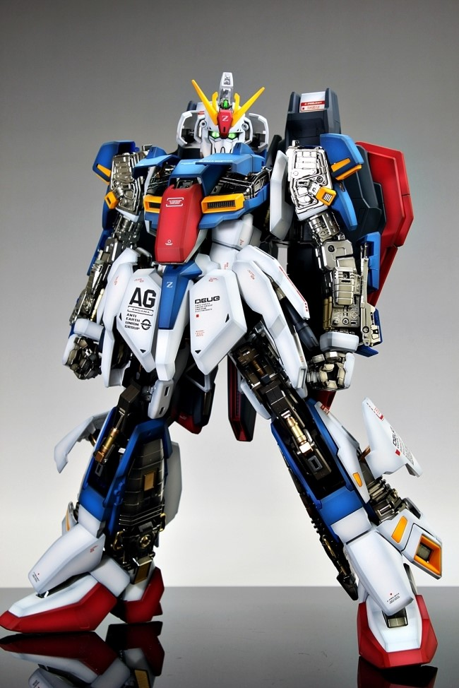 PG 1/60 MSZ-006 Zeta Gundam: Painted Build. Photoreview