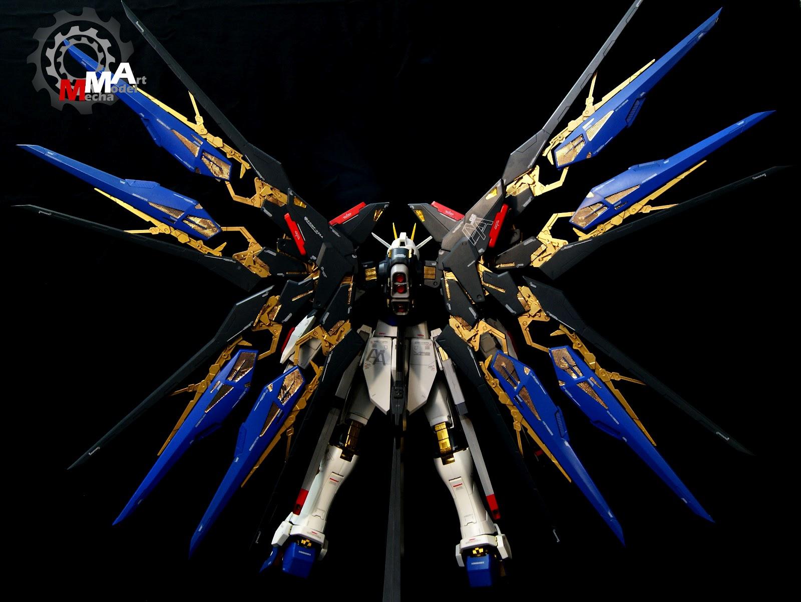 PG 1/60 Strike Freedom Gundam: Painted Build. Photoreview ...