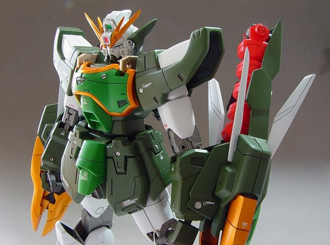 HG 1/100 Gundam Nataku: Improved, Painted Build ...