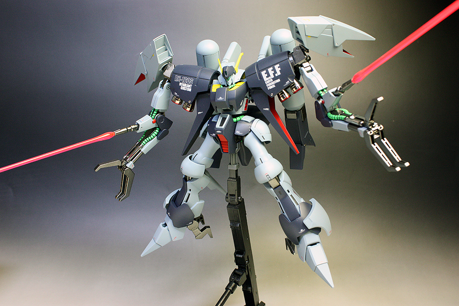 HGUC 1/144 RX-160S Byarlant Custom: Improved, Painted ...