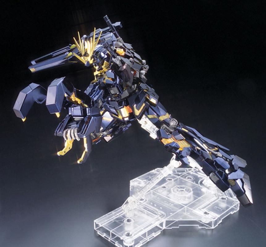 Mg 1 100 Rx 0 Unicorn Gundam 02 Banshee Titanium Finish Ver Added