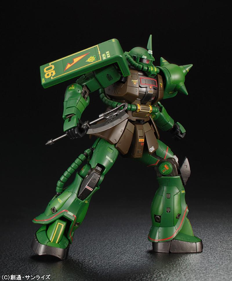 RG 1/144 MS-06F ZAKU II Real Type Color Limited x Gunpla EXPO World ...