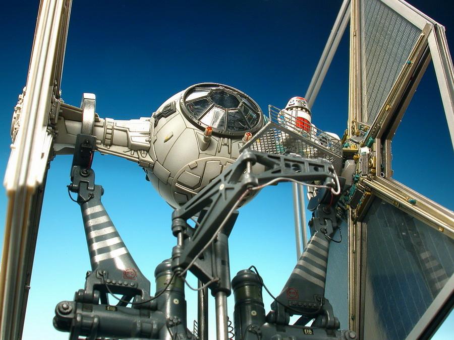 Star Wars] Fine Molds 1/72 TIE Fighter: Super Detailed Model