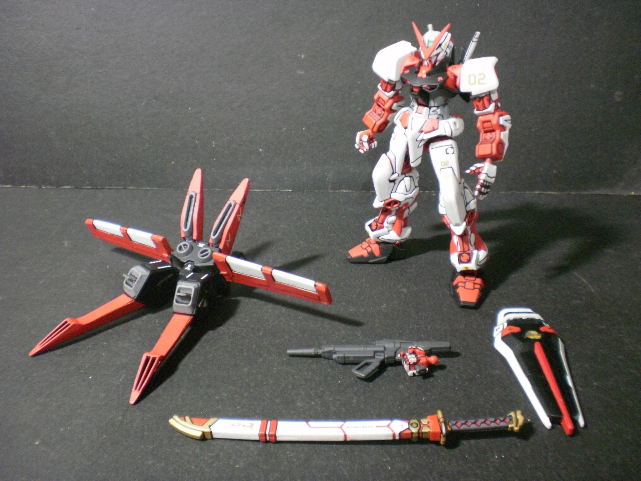 HG 1/144 Gundam Astray Red Frame Flight Unit (Improved ...