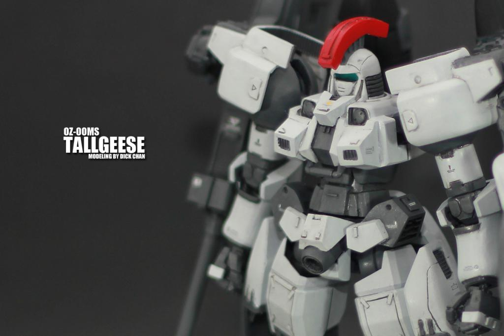 1/144 OZ-00MS Tallgeese: Modeled by Dick Chan  Photoreview (w