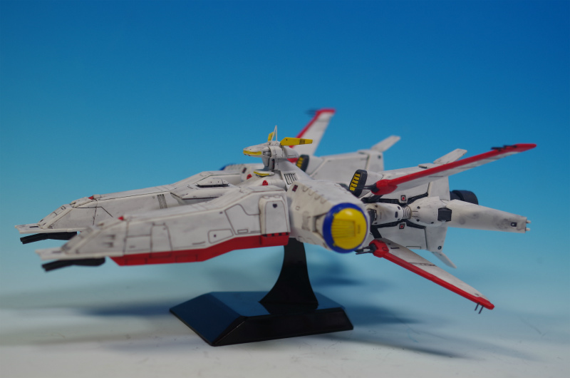EX Model Mobile Ship Albion: Painted Build. Photoreview ...