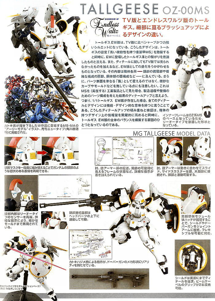 Image result for mg tallgeese ew instructions