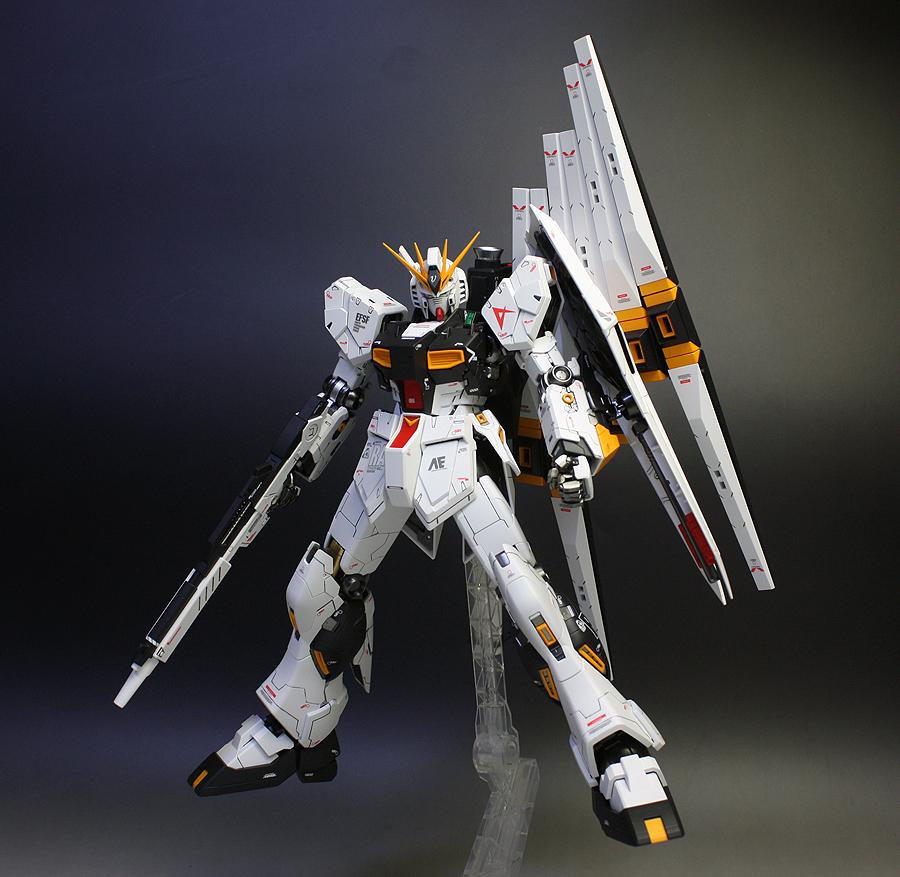 MG 1/100 Nu Gundam Ver.Ka + Double Fin Funnel Custom Unit ...