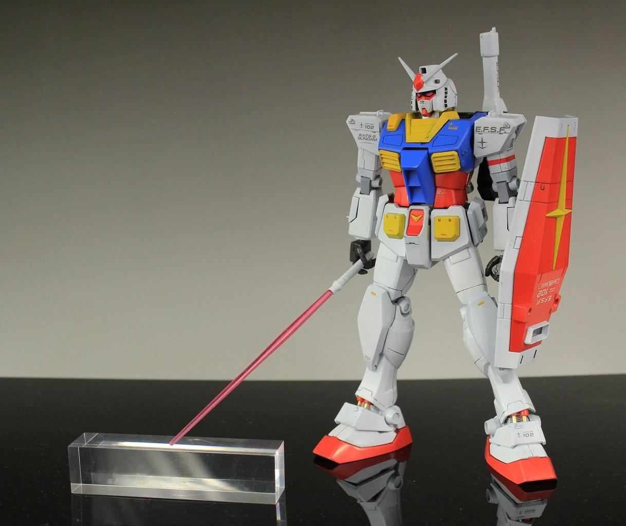 RX-78 T MG 1/100 RX-78-2 Gundam [Ver. Gundam The Origin]: