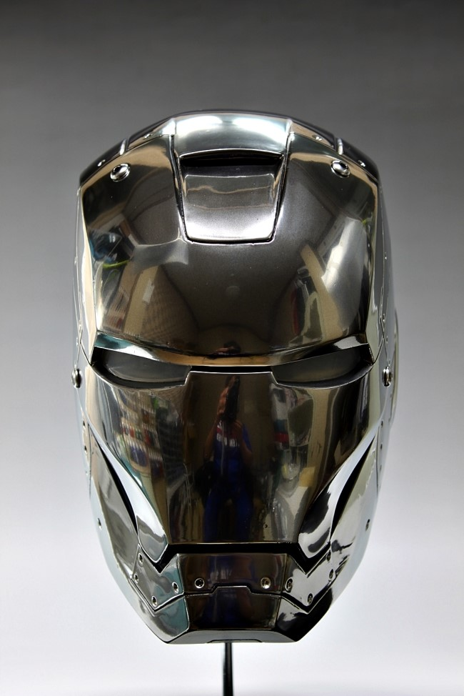 1 1 Scale Iron Man Head Ver Mark Ii Full Photoreview No 17 Big Size Images Gunjap