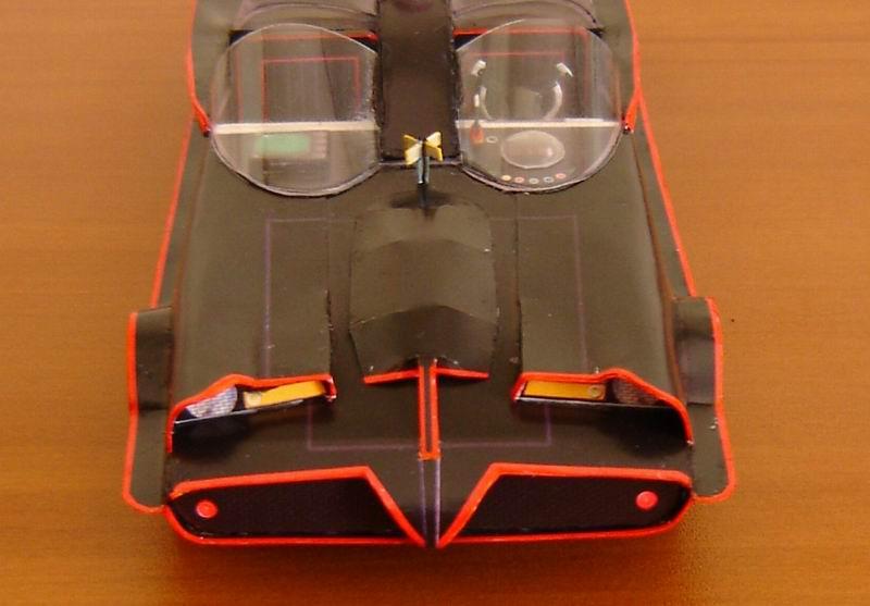 build your own papercraft 1  24 batmobile 1966 ver