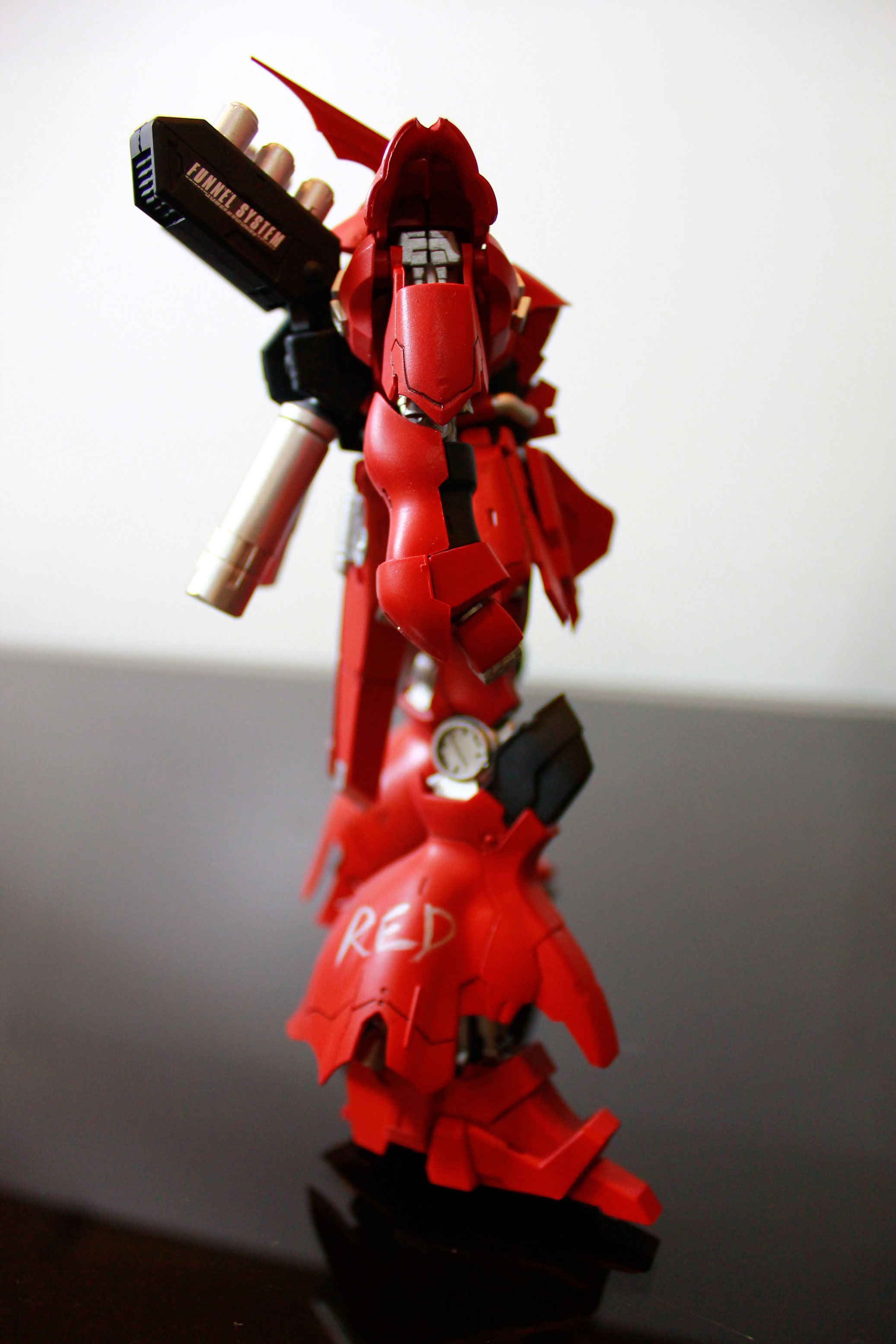 1 144 Hg Sazabi Evo Ver Captain Red Modeled By Akio0504