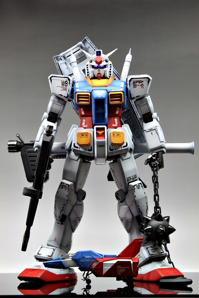 Pg 1 60 Rx 78 2 Gundam Improved Painted Build Full
