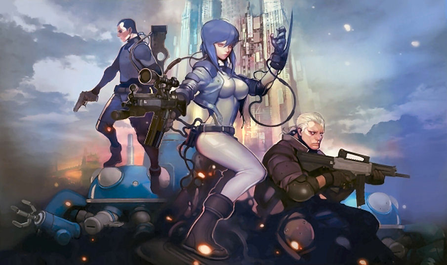 Ghost In The Shell Online Game To Be Hacking Fps Full Info Official Big Or Wallpaper Artwork Images Gunjap