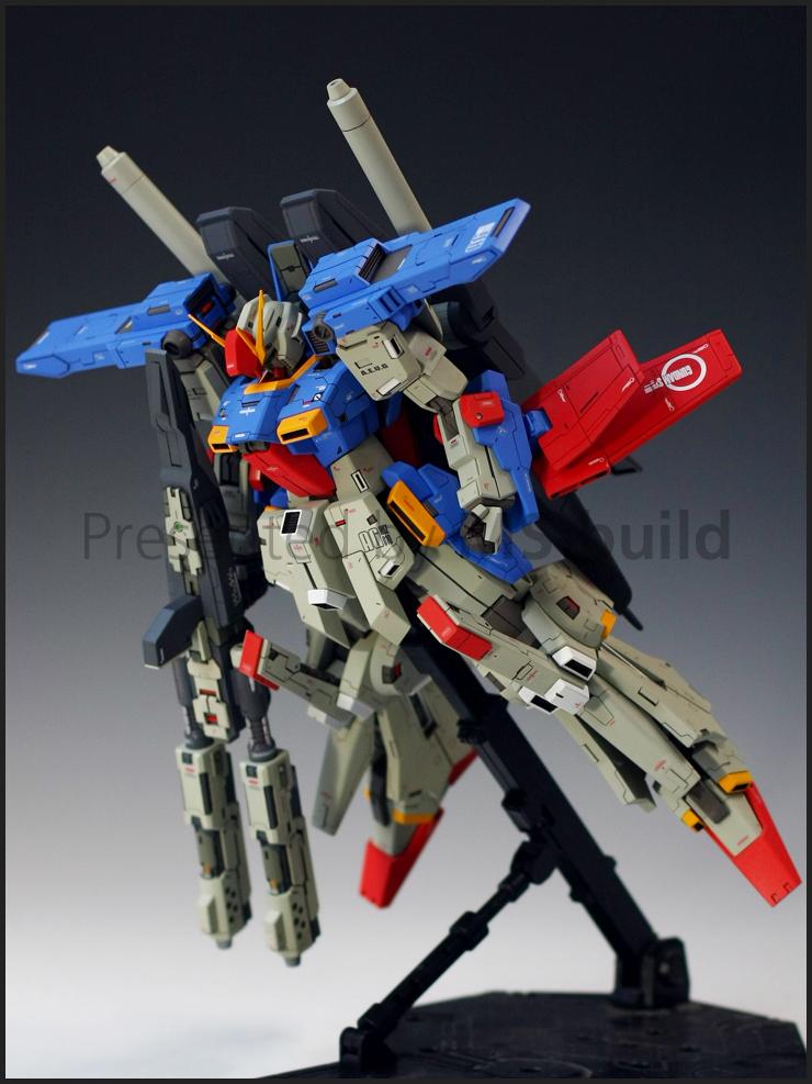 Dress Up Garage Kit Parts for MG 1/100 MSZ-010 ZZ Gundam