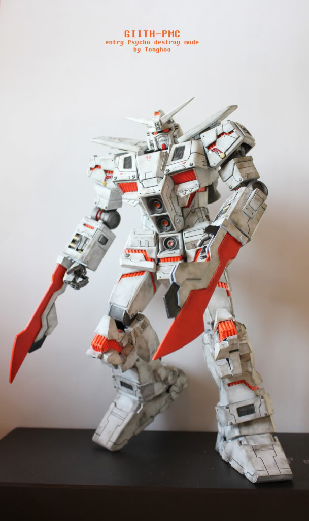 New Trans Am >> HGUC Psycho Gundam Destroy Mode Custom: Photoreview Wallpaper Size Images, Info | GUNJAP