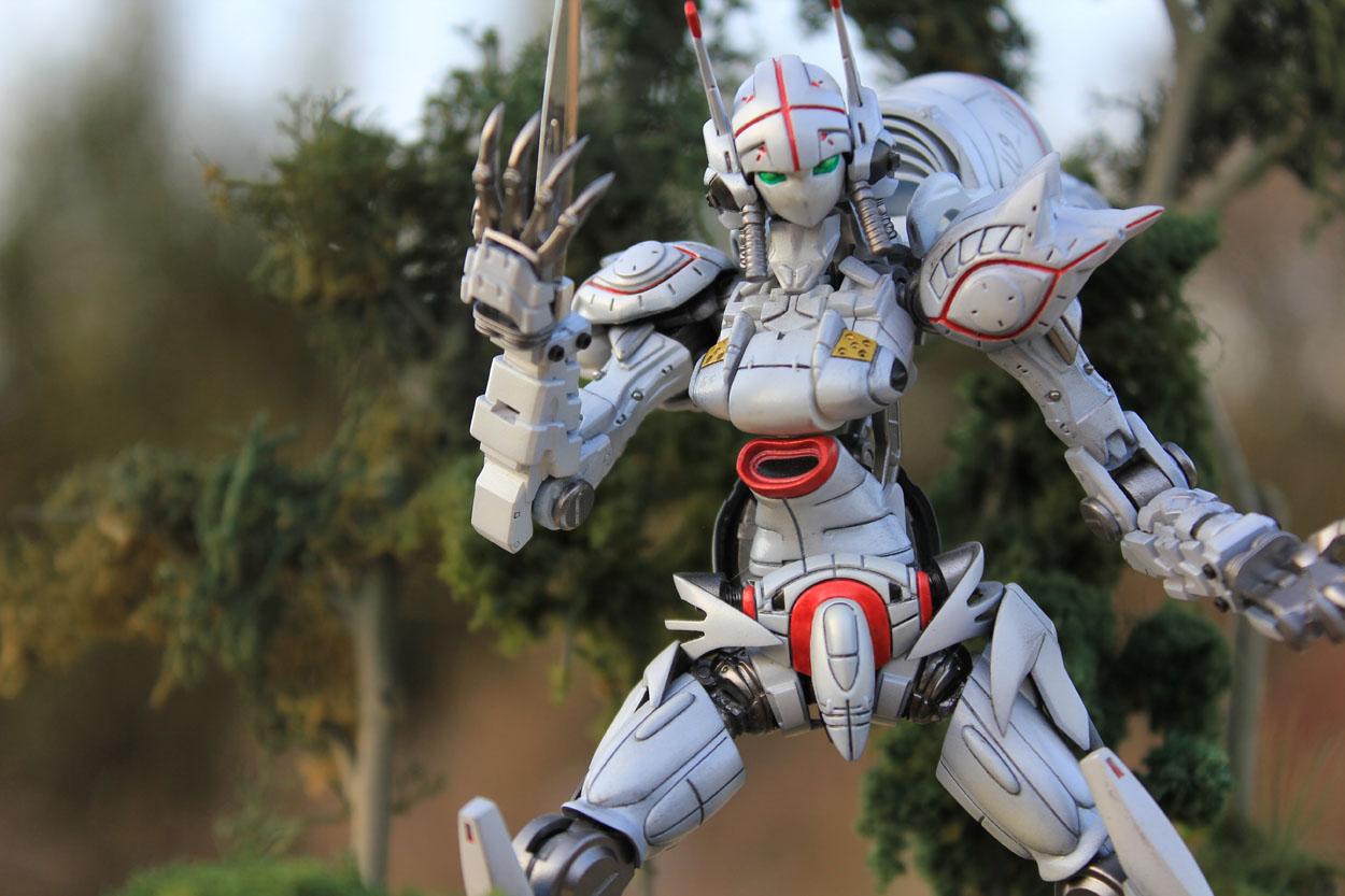 Diorama Alexander Knightmare Frame Of Akito Hyuga Code Geass